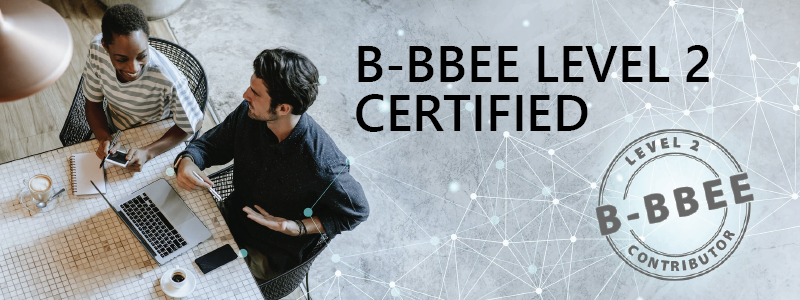 RData B-BBEE Level 2 contributor